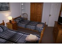 Secure single or twin room available from £12 per night all bills incl. In Invergordon