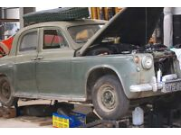 1957 Rover 75 (P4) 6 Cylinder