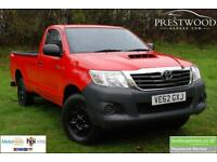 TOYOTA HI-LUX HL2 2.5 D-4D KING CAB 4x4 [142 BHP] PICK UP (red) 2012