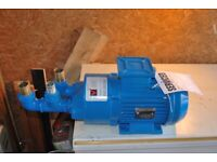 Electric water pump 4.4Kw power full industrial pump, in excellent condition
