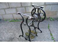 RARE Antique Wheeler & Wilson No 1 treadle machine Stand/Frame