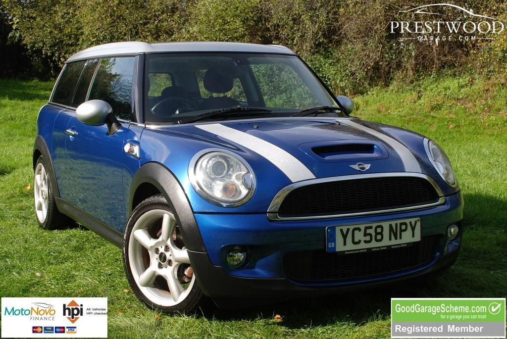 MINI CLUBMAN 1.6 COOPER S [172 BHP] CHILI PACK [Sat Nav] (blue) 2008