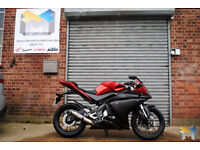2014 Yamaha YZF R125 in Red. Immaculate Condition, Fully Checked and Inspected