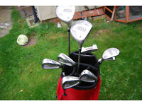 Wilson 1200 Gear Effect 3D Muscle Cavity Women's Flex Golf Clubs and Bag