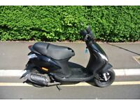 Piaggio ZIP 50cc 2T Black, One Owner, 1350 miles