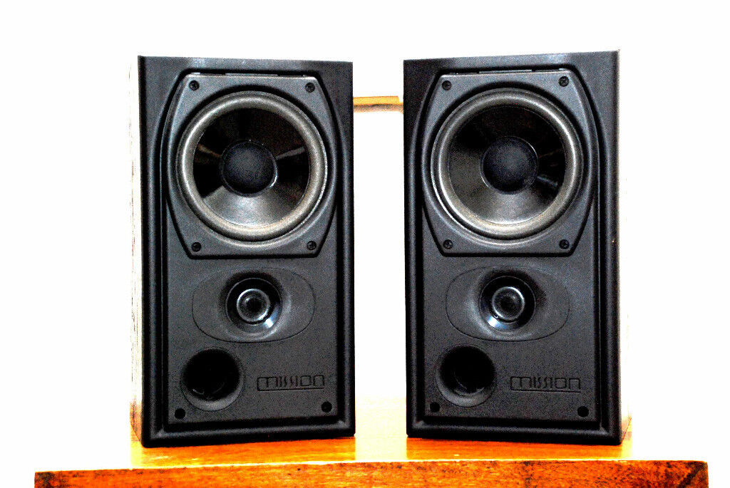 Mission Bookshelf Speakers 731i Black Ash 50 Price Reduction On 07 12 18 For Quick Sale