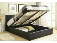 Cheap ottoman storage lift up double bed!