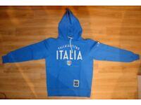 CHAMPION - Pallacanestro Italia blue hoodie youth