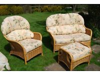Conservatory furniture - very good condition plus unused spare covers