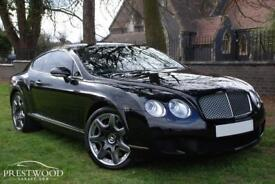 BENTLEY CONTINENTAL GT 6.0 W12 COUPE AUTO [550 BHP] MULLINER (black) 2008