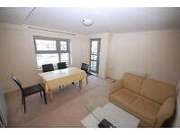 A fourth floor (lift) one bed flat,parking, fabulous views to London a short walk from Victoria stn