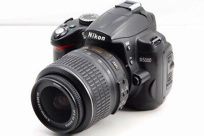 Nikon D5000 12.3MP AF-S Nikkor 18-55mm VR Lens Kit DSLR Digital Camera [EX+++] Nikon D5000 Dslr Kit