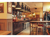 Part time - bar/waiting staff required