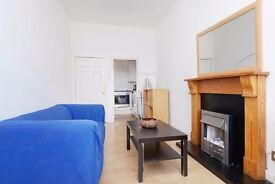 Fantastic, central 1 bedroom 3rd floor flat in Old Town available NOW – NO FEES!