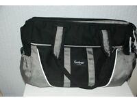 Emmaljunga Changing Bag Black/Grey