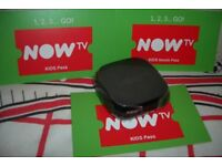 Now TV KIDS 6 Month pass & New Now Tv Box