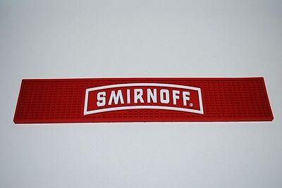 Smirnoff Barmatte - Smirnoff Tresenmatte - Thekenmatte - 50cm x 10cm ++++