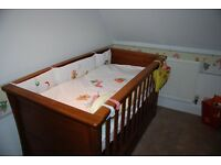 Mamas and Papas 'Ocean' range oak nursery furniture (4 items) for sale in great condition.