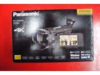 Panasonic HC-VXF990 Wireless Multi Camera Camcorder Brand New £600