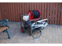 Honda petrol power washer 3000psi 21lts with reel