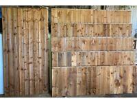 Feather edge fence panels gates 2ft 3ft 4ft 5ft 6ft