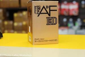 Nikon 18-35mm AF ED lens