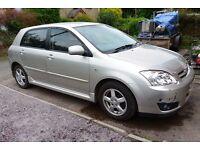 Toyota Corolla 1.6 petrol, manual, 5 door, nice drive. £695 no offers