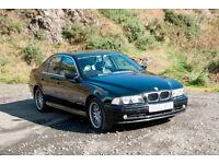 BMW 520i Auto - E39 - 2.2 - Black - LOW MILEAGE - FSH - 2 OWNERS, MOT'd - 5 SERIES MOT 3 2017