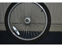20 inch rear bicycle wheel