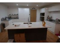 HOWDEN'S GREY/WHITE GLOSS KITCHEN