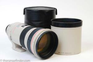 Canon EF 300mm f2.8 IS L USM Lens w/Case