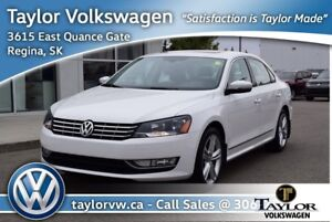 2015 Volkswagen Passat Highline 1.8T 6sp at w/ Tip Nice Local Pa