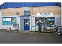 second hand fishing tackle and animal feed business for sale