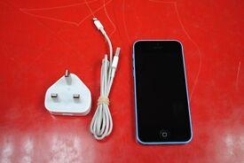 Apple iPhone 5C 8GB Blue Unlocked £160