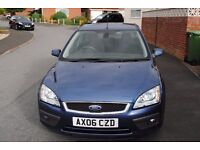 FORD FOCUS GHIA SALOON 2006 ONE OWNER LONG MOT ONLY £1195