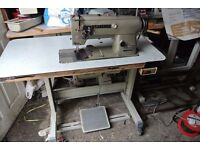 Brother Twin needle , needle Feed Sewing machine WITH REVERSE(DOUBLE STITCHING-UPHOLSTERY)