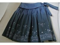 Girls Blue Ombre Party Skirt