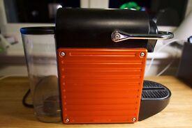 Nespresso Pixie Krups Coffee Machine plus Aeroccino 3