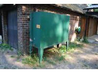 Steel heating or diesel oil tank and stand 1350 litres
