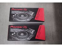 Pioneer XDJ-1000MK2 (Pair Of) Brand New Factory Sealed £2050
