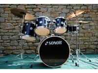 Sonor Force 1005 Drum Kit with Cymbals and Hardware