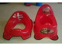 Brand new lightening mcqueen potty and training seat