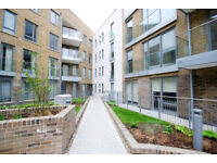 Two bedroom flat with parking in private Limehouse canal development