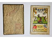 Rare KARGO Card Golf Game