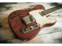 Fender Squier Telecaster relic roadworn custom Standard series