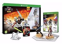 Xbox One Disney Infinity 3.0 - Portal,3.0 Game software and Star Wars 3 figures new in Box