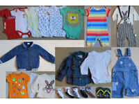 Bundle of Boys Baby Clothes 12 to 18 months (SUMMER)
