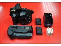 Nikon D7100 Body with Pixel Battery Grip and Extra Battery £530