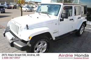 2015 Jeep WRANGLER UNLIMITED Sahara *Clean Carproof, Local*