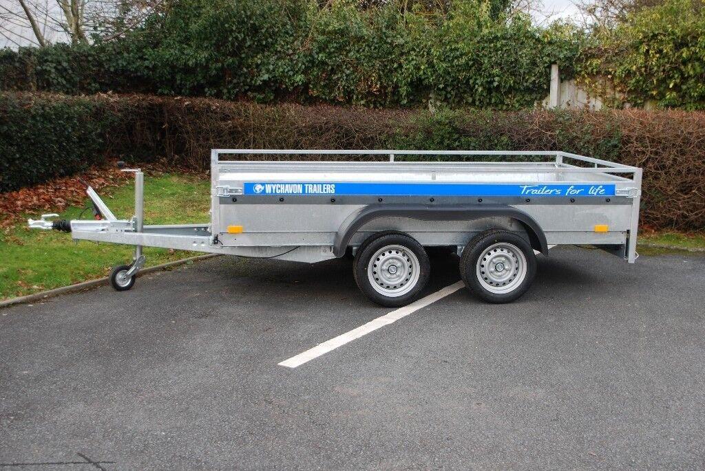 Heavy Duty Car Trailer 2700kg 10x5 Twin Axle In Hereford